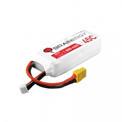BATTERIA LIPO BRAINERGY YUKI MODEL 3S 1800 MAH