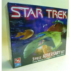 STAR TREK ADVERSARY SET 3 PEZZI