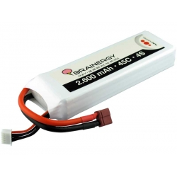 BATTERIA LIPO BRAINERGY YUKI MODEL 4S 2600 MAH